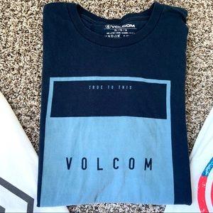 Volcom Shirts - 3 Men's Volcom Tshirts